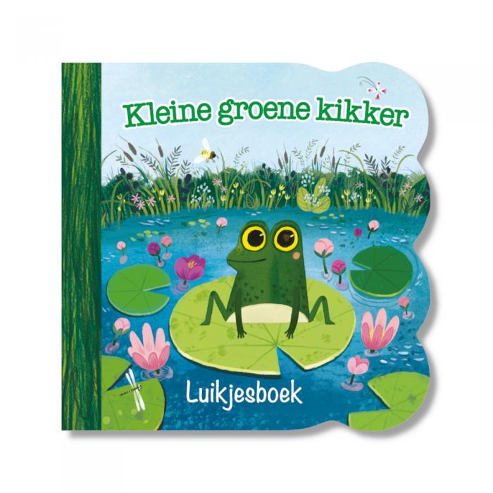 Kleine groene kikker